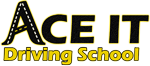 Ace It Driving School Logo